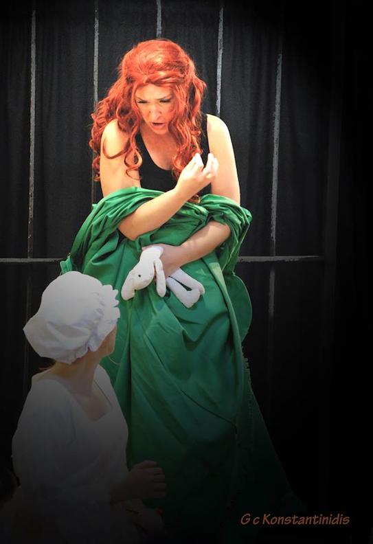 A scene from Alice Ryley: A Savannah Ghost Opera (photo: George Konstantinidis)
