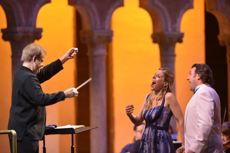 Opera at Caramoor (photo: Gabe Palacio)